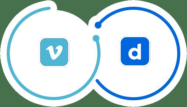 vimeo and dailymotion logos
