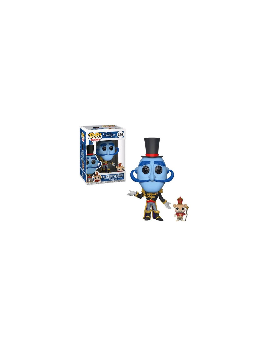 Funko Pop Coraline Mr Bobinsky With Mouse