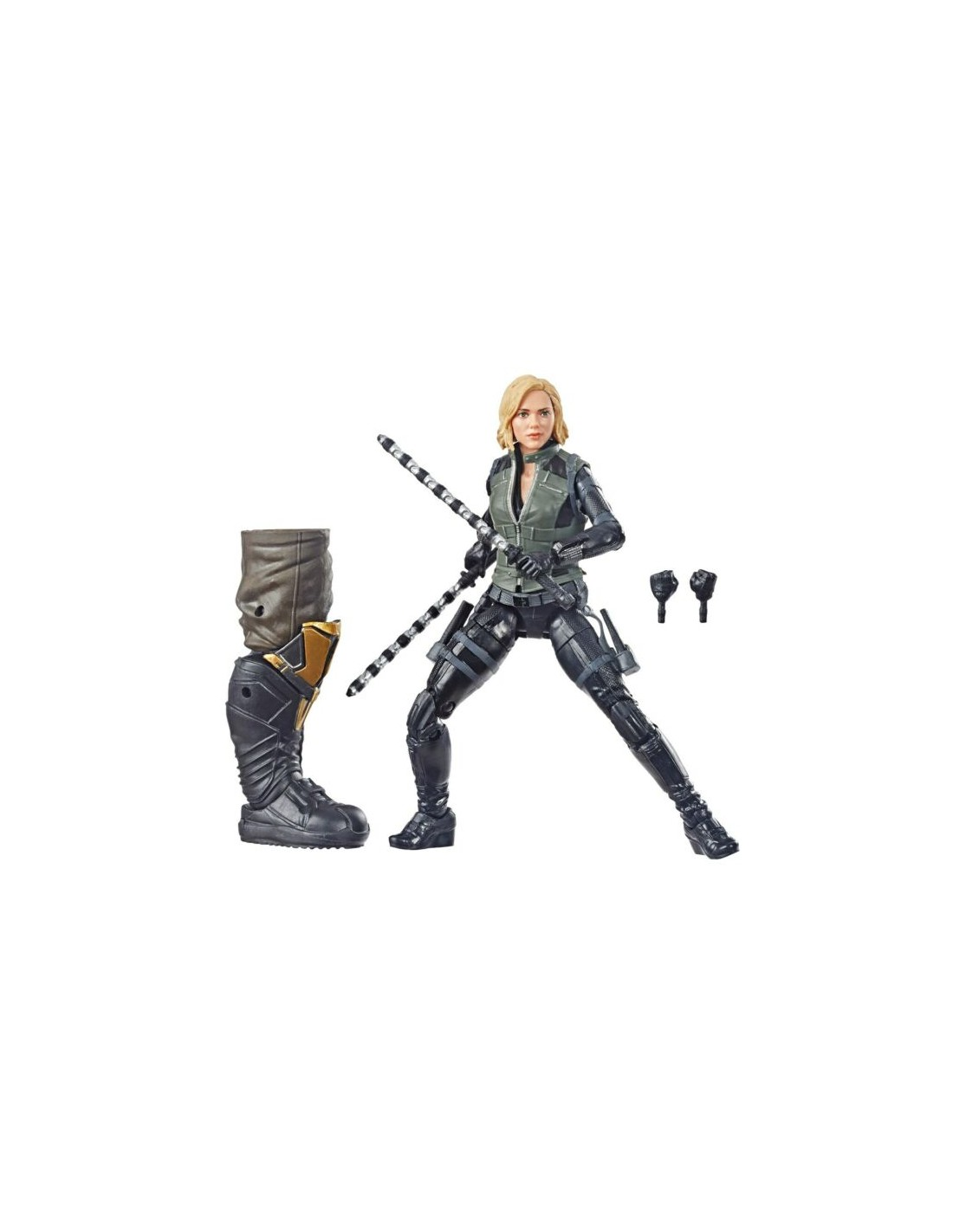 Figura Marvel Avengers Infinity War Black Widow Hasbro