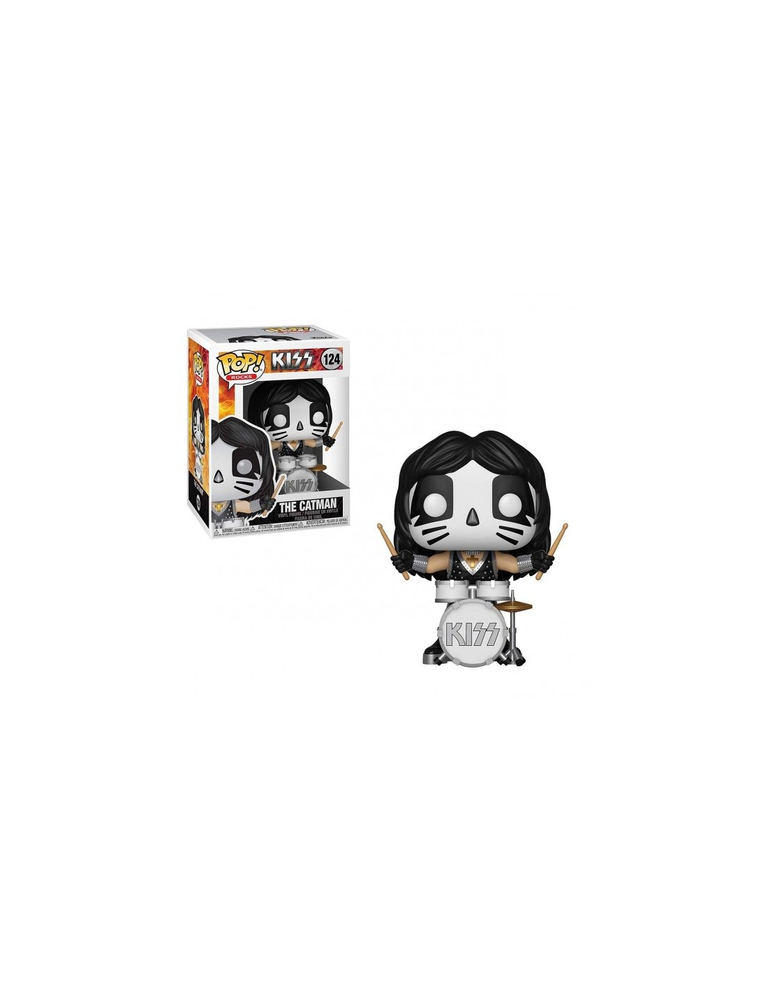 Funko Pop Kiss The Catman