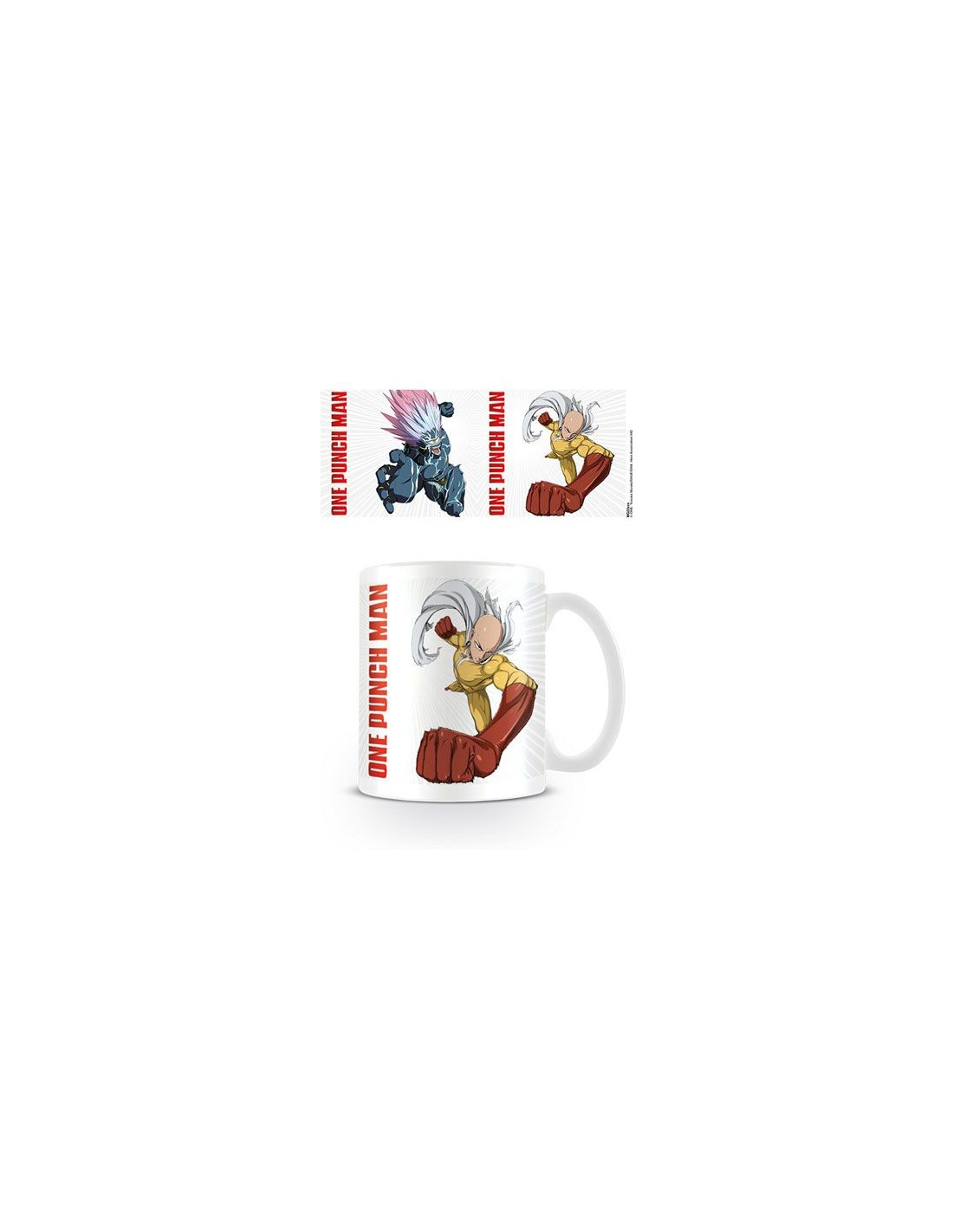Taza One Punch Man Saitama Vs Boros
