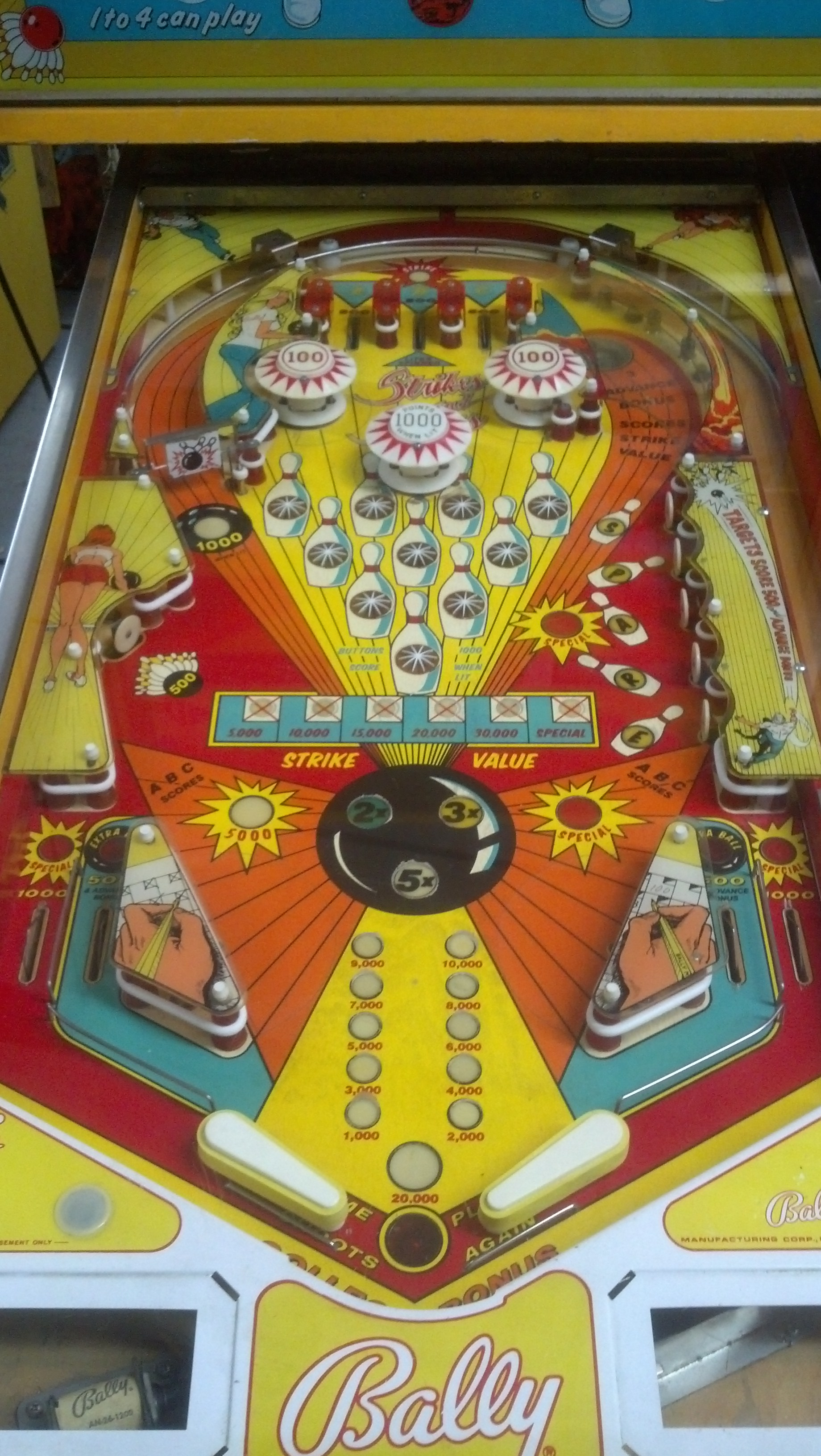 Strikes And Spares Pinball Video Game911