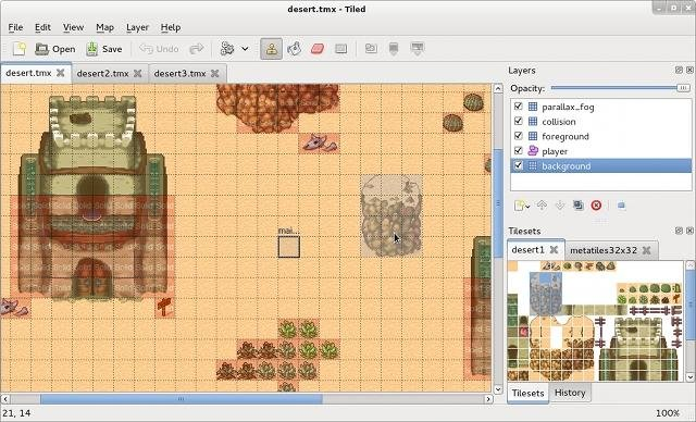 Tiled, l'outil pour créer des niveaux de jeux vidéo
