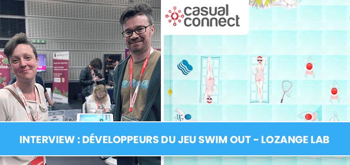 Interview : développeurs du jeu Swim Out - Lozange Lab