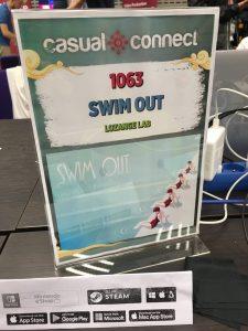 Swim Out à la Casual Connect Europe 2018