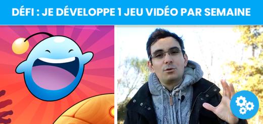 Défi : je développe un jeu vidéo par semaine