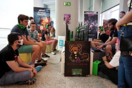 Baobabs Mausoleum lors d'un festival de jeux vidéo indépendants