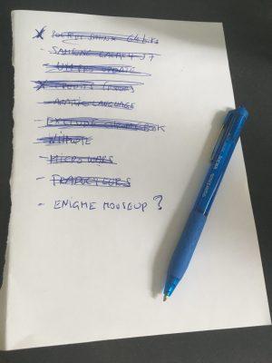 Liste de taches feuille A5