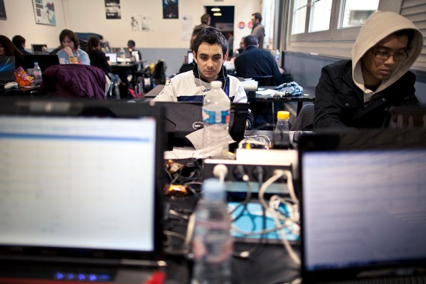 Développeur pendant la Global Game Jam