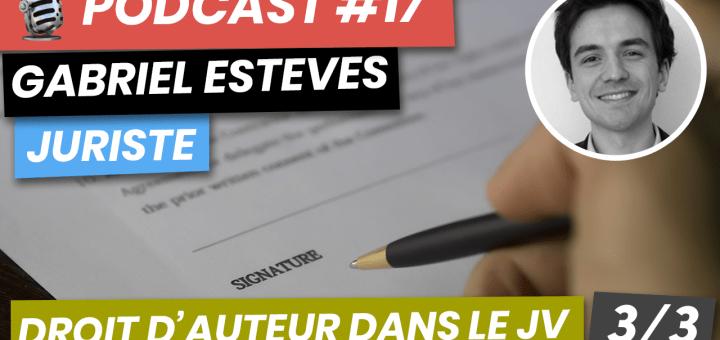 Podcast #17 droit d auteur dans le jeu video