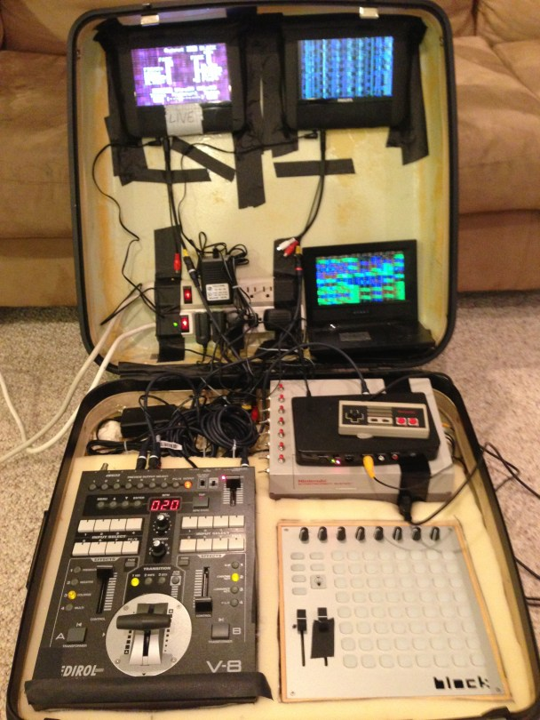 Pixel Seed's live visual rig