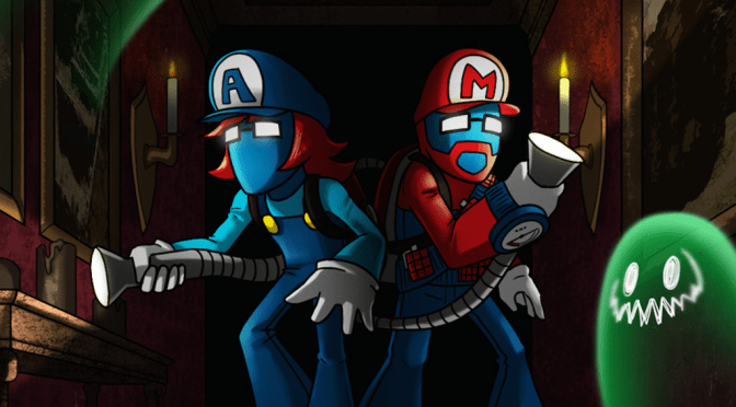Pegboard Nerds Remix Luigi's Mansion, Fight Cancer, Are Badasses