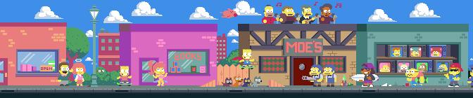 Paul Robertson's Pixel Simpsons Opening