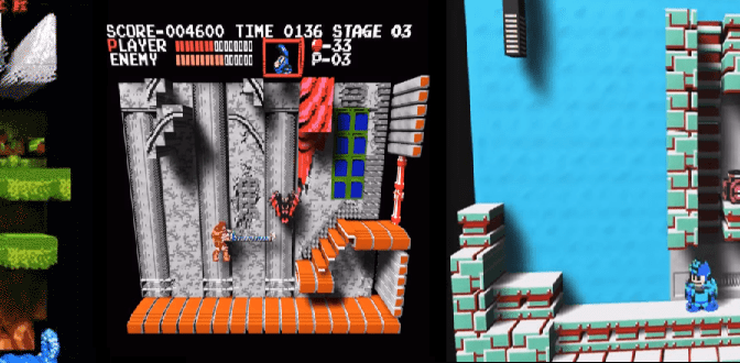 3DNES Emulator Transforms Your Favorite NES Game into a Pseudo-3D Trip