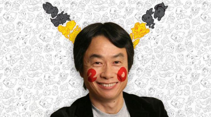 Miyamoto Congratulates Pokemon's 20th Anniversary