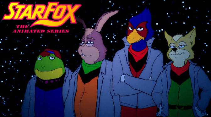 Star Fox Fan Animation Pays Homage to Old Sci-fi Cartoons