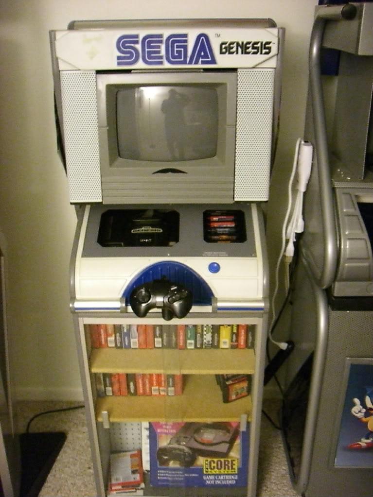 sega genesis kiosk, sega kiosk