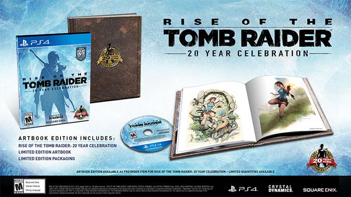tomb raider 20 year celebration ps4 gameplay