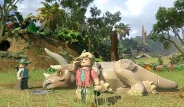 Lego Jurassic World Triceratops
