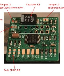 Nintendo RGB Bypass Amp (Revision 4.1b-VGP)
