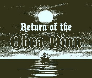 Return of the Obra Dinn facts video game
