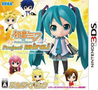 Hatsune Miku and Future Stars Project Mirai facts