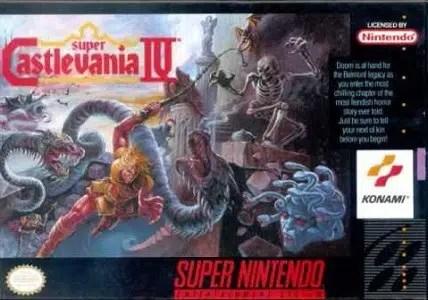 Super Castlevania IV facts