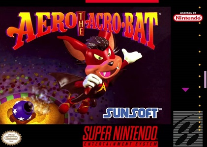 Aero the Acro-Bat facts