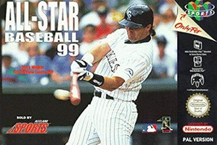 All-Star Baseball 99 facts