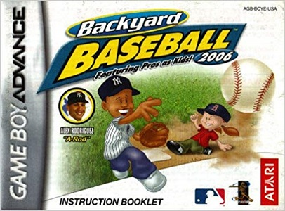Backyard Baseball 2006 facts