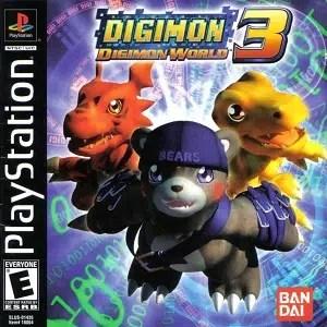 Digimon World 3 facts