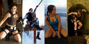 Banner Cosplay Lara Croft