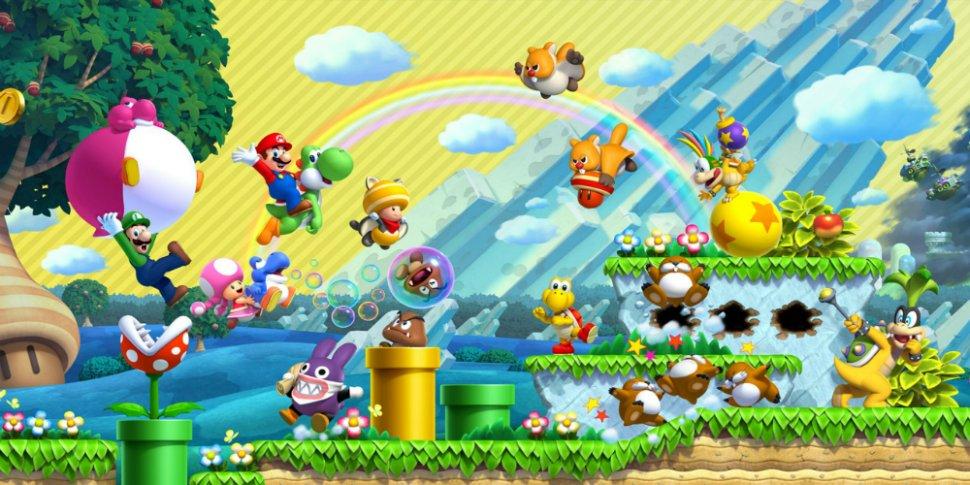 New Super Mario Bros. U Deluxe megaslide
