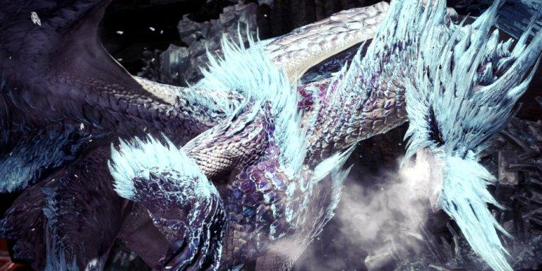 Monster Hunter World Iceborne banner