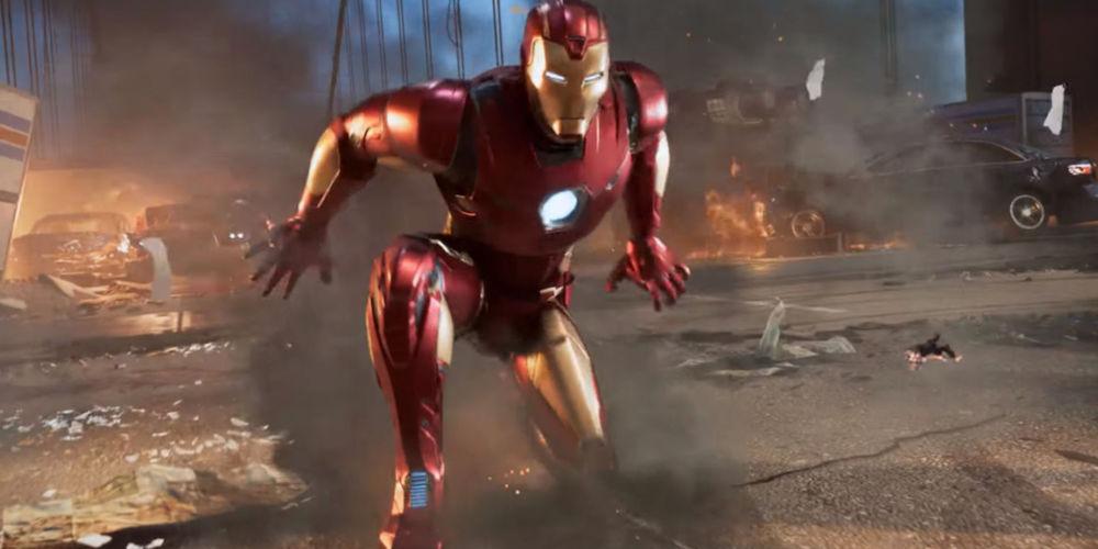 Square enix Marvel's Avengers final fantasy VII remake