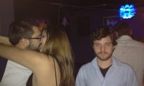 This Dude Takes Pics Next to People Making Out
