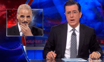 Stephen Colbert on Eric Holder's Resignation