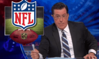 Stephen Colbert -Muslims in the End Zone
