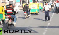 Moon Walking Cop Directs Traffic with Style