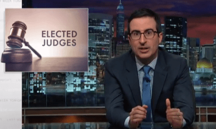 Is It Ridiculous We Elect Judges in This Country? John Oliver Thinks So…