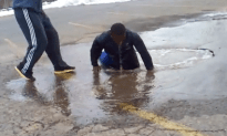 Guy Almost Drowns at Family Dollar!
