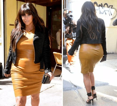 Kim Kardashian Is Freaking Huge!