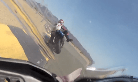 Here is What It's Like to Run Over Your Friend With a Motorcycle