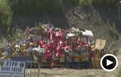 How the NYPD Destroy Confiscated Fireworks