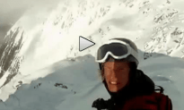 Here is What It's Like to be Caught in an Avalanche