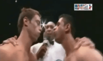 Cocky Boxer Gets Laid Out