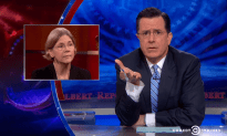 Stephan Colbert Reminds Us That Elizabeth Warren Is Awesome