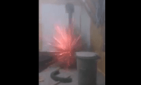 Aerosol Can and Fire! What Could Go Wrong?