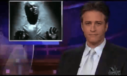 Time Lapse Of Jon Stewart On The Daily Show