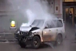 Reckless Driver Bashed In Moscow… Riot Ensues…